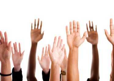 Levanta la mano!