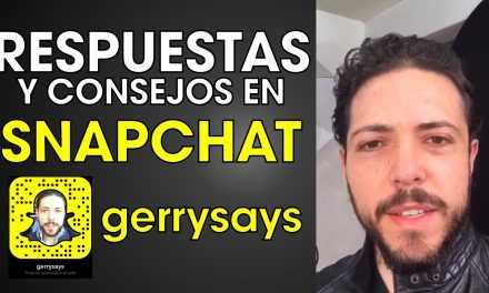 Respuestas Y Consejos A Través De Snapchat