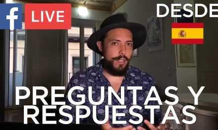 Sesión De Preguntas Y Respuestas En FB Live Desde España