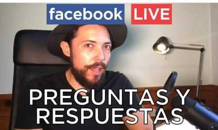 Preguntas Y Respuestas En Vivo Por Facebook Live -20 de Agosto 2017