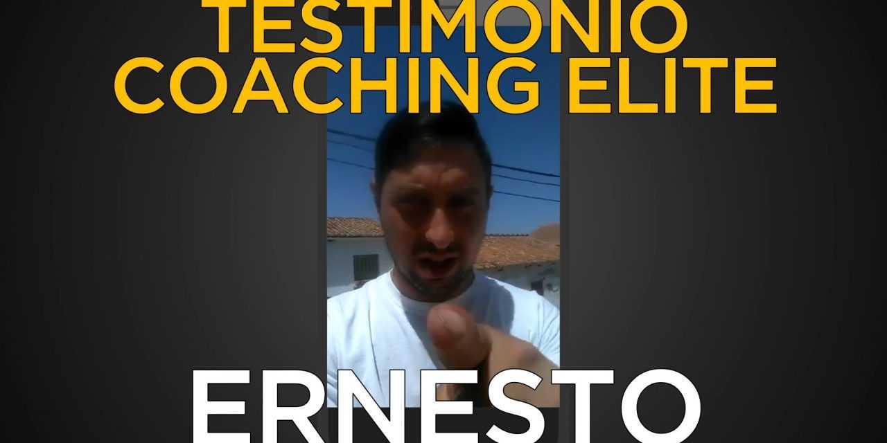 Testimonio Coaching Elite: Ernesto desde Málaga