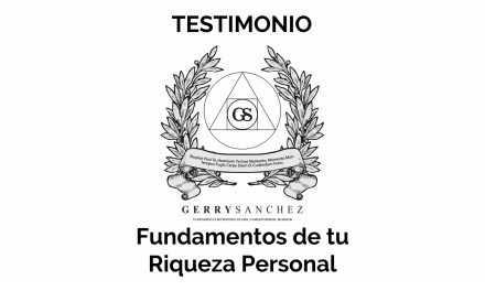 """Testimonio del Seminario """"Fundamentos de tu Riqueza Personal"""""""